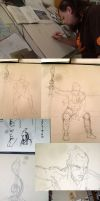Elric Image in Progress 001 by hesir
