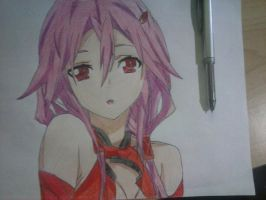 Guilty Crown Inori by dialgito