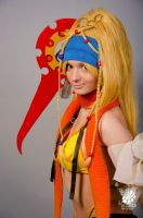 Rikku smile by AGflower