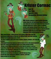 :ZP Contest Entry: Krister Cormac by shamen01