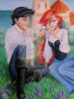 Ariel and Eric by IZZY-BD