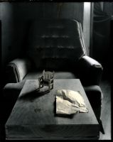 the empty chair by lauren-rabbit