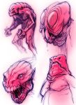 Creature Sketches by StraightEdge1977