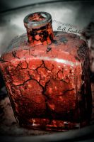 Veins in glass (blood preserved) by C-Asepsis
