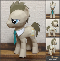 papercraft Dr. Hooves by robicraft