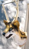 Fake taxidermy creature - commission by zarathus