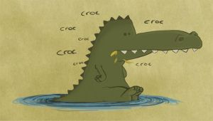 croc-croc by davidwehmeyer