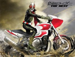 Kamen rider2 n cyclone2 by RAMAHYDE