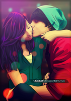 Couple by AristAF