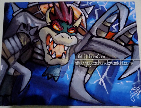 [T-A] Bowser ( ver. Mario Strikers ) by JaycaChan