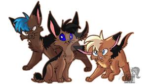 Terrier Clones by JB-Pawstep