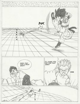 DB OC Burst T #14: Zoki vs Kratar pg2 by chrisolian