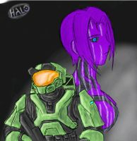 Paintchat - Halo by GuyverC