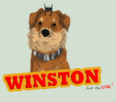 Winston The Dog by HIGH-OVERSEER