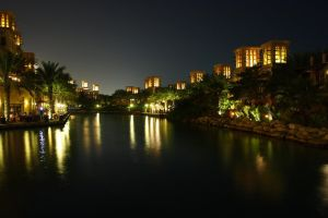 Madinat Jumeirah resort, Dubai by troypiggo