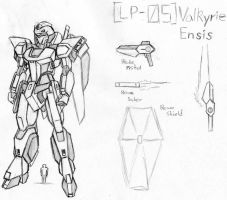 LP-05 Valkyrie Ensis by Linkinpark30101