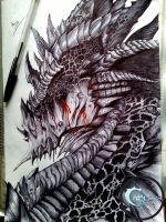 Deathwing - World of Warcraft (Cataclysm) by Caold