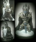 The Lich King sculpt by TweedLD
