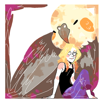 Amy and a BIRB square edition! by Kayroos
