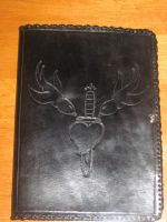 Swallows Journal Cover by FattDaddyLeather
