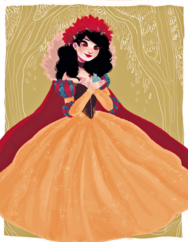 snow white by snownymphs