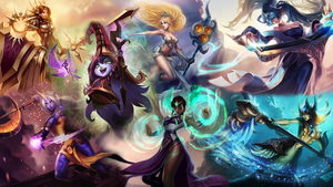 League of Female Support Power! by DioHard