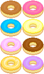 Donut sheet by Bulldoggenliebchen