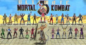 Ultimate MK 3 poster by edithemad