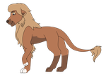 TLK Lion OC Reference by Sylveon17