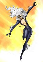Black Cat 1 by LeoJere