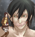 Secret Santa: eternitymaze Attack on Titan by Ririkou-Adopts