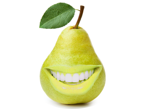 dA even: Pears by GBrushAndPaint