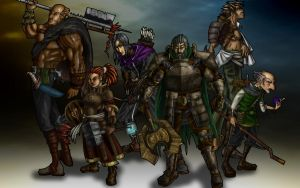 dnd party 2 by oz-of-the-land