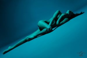 Blue Nude by euGen by euGen-foto