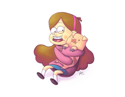 + Mabel and Waddles + by KyseL