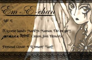 My new id by Em-E-chan