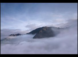 Silence over clouds by Sesjusz
