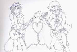 Offbeat_Rock Stars And Hearts by blwhere
