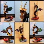 Handmade Discord from MLP sculpture for sale! by StephanieEzzo