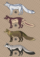 Fox designs by TripletNr2