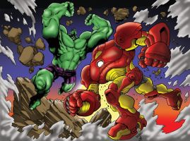 Hulkbuster Color by JOEYDES