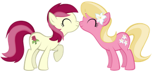 Roseluck and Lily by Astanine