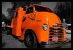 Big Orange Truck by Riverine