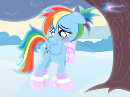 Winter Dashie by RainbowDashie