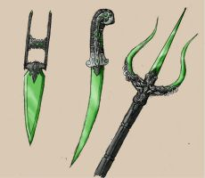 Glass Weapons by EmperorJustin