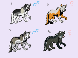 Wolf Adopts OPEN by Crystalthewhitewolf