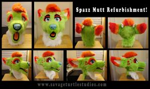 Spazz Refurbishment! by JakeJynx