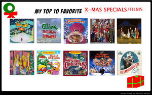 My Top 10 Favorite Christmas Specials by FreshlyBaked2014