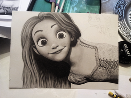 Tangled WIP 4 by Jaki33