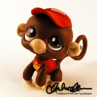 Diddy Kong custom LPS by thatg33kgirl